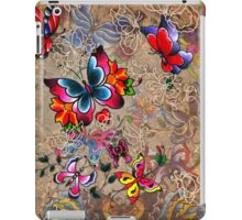 Traditional Butterfly Tattoos iPad Case/Skin
