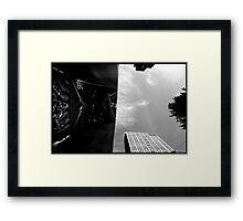 30 rock w/x-mas tree, 2011-dec Framed Print