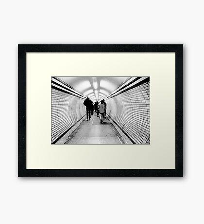 1985 - channeling Framed Print