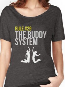Zombieland Survival Guide - Rule #29 - The Buddy System Women's Relaxed Fit T-Shirt