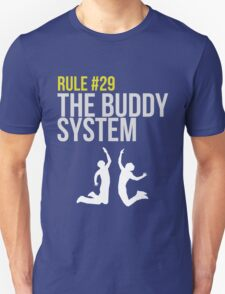 Zombieland Survival Guide - Rule #29 - The Buddy System Unisex T-Shirt
