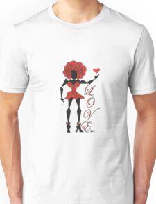 Heart Filled Gurl ~(C) 2011 Unisex T-Shirt