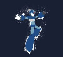 Mega Man X Splattery Any Color Shirt or Hoodie Kids Clothes