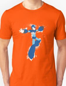 Mega Man X Splattery Any Color Shirt or Hoodie Unisex T-Shirt