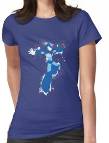 Mega Man X Splattery Any Color Shirt or Hoodie Womens Fitted T-Shirt