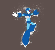 Mega Man X Splattery Any Color Shirt or Hoodie Unisex T-Shirt