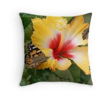 Butterfly House, Oklahoma State Fair, September 2011 Throw Pillow