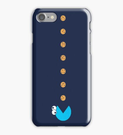 Cookie Monster Pac-Man iPhone Case/Skin