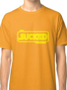 The Prequels Sucked Classic T-Shirt