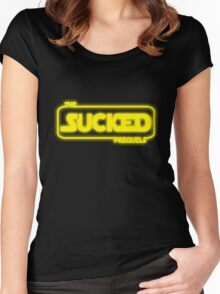 The Prequels Sucked Women's Fitted Scoop T-Shirt