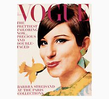 Barbra Streisand: Vintage Vogue Cover Unisex T-Shirt