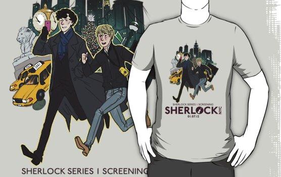 Sherlock NYC - SCREENING - Day (Purple Logo) by SherlockNYC