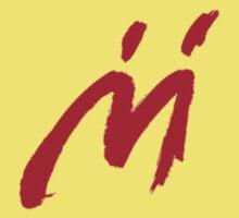 M Graffiti  Kids Tee