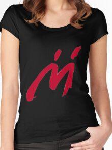 M Graffiti  Women's Fitted Scoop T-Shirt