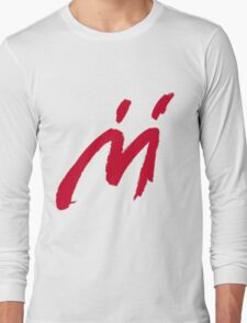 M Graffiti  Long Sleeve T-Shirt
