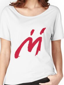 M Graffiti  Women's Relaxed Fit T-Shirt