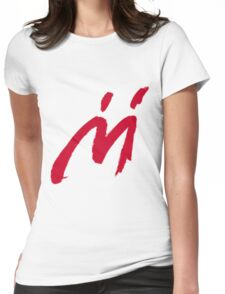 M Graffiti  Womens Fitted T-Shirt