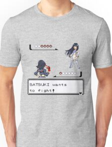 Satsuki wants to fight! Unisex T-Shirt