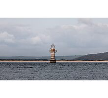 Whiteford lighthouse Photographic Print
