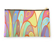 Distorted squares and circles Studio Pouch