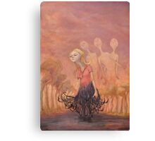 The Redhook Princess   Canvas Print