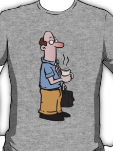 Boss with cup of coffee T-Shirt