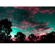 Pink clouds Photographic Print
