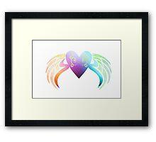 Love Take Flight Framed Print