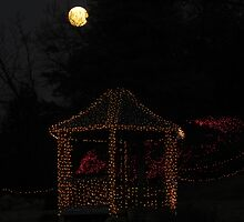 Gazebo and Moon by bannercgtl10