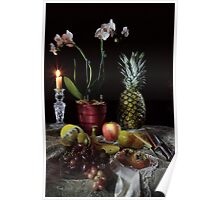 Pineapple Still-life Poster