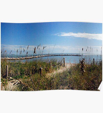 Inlet Beach Poster