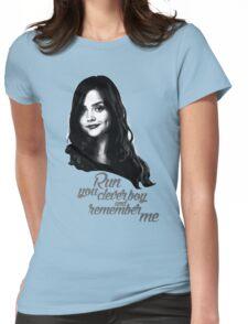 Clara Oswald/Run... Womens Fitted T-Shirt