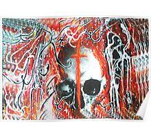 Skull and Cross Spooks Poster