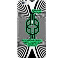 3-iphone4-Adinkra-Series-wisdom-integrity-intelligence-patience iPhone Case/Skin