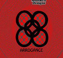 5-iphone4-Adinkra-Series-arrogance by Keith Richardson