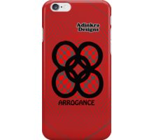 5-iphone4-Adinkra-Series-arrogance iPhone Case/Skin