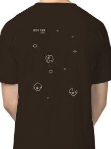 Asteroids with Pokemon Classic T-Shirt