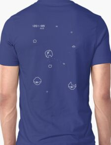 Asteroids with Pokemon T-Shirt