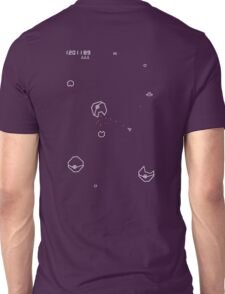 Asteroids with Pokemon Unisex T-Shirt