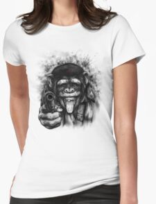 CHIMP GUEVARA Womens Fitted T-Shirt