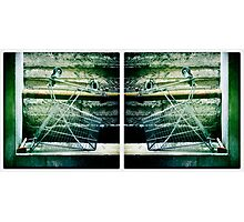 Trolley Diptych-2 Photographic Print