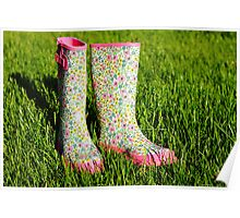 rain boots Poster