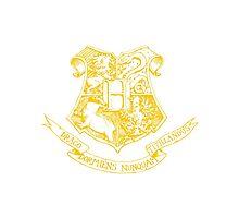 Harry Potter - Hogwarts Crest by SamuelH7