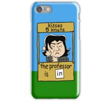 The Professor is IN. iPhone Case/Skin