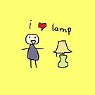 i luv lamp by masachan