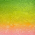 Colorful Gradient Abstract Bubbles Glitter & Sparkless by artonwear