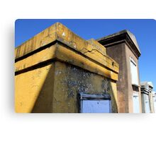 Yellow Tomb Canvas Print