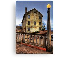 Alcatraz Late Afternoon HDR Canvas Print