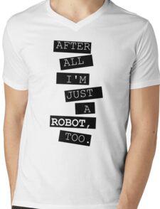 Just a robot Mens V-Neck T-Shirt