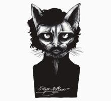 Edgar Allan Meow Kids Clothes